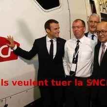 Ruffin : ils veulent tuer la SNCF