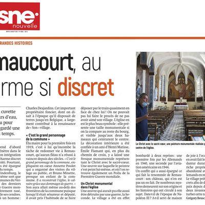 Remaucourt: charmant village !