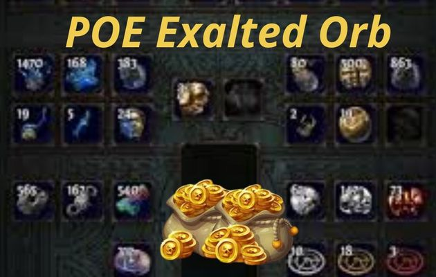 Buy POE Exalted Orb at Cheap price at RPG-GOLD.COM