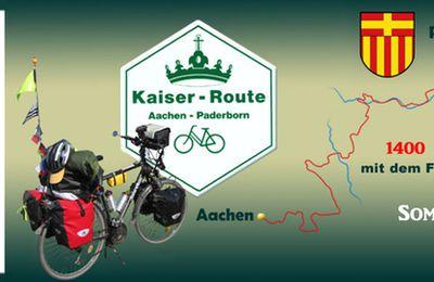 Paris - Aachen - Paderborn - Erfurt - Leipzig, en vélo cet été !