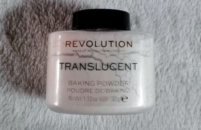 Revolution, Baking Powder, Translucent