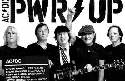 "ATTENTION ! Premier titre du nouvel album d'AC/DC ""Shot In The Dark"""