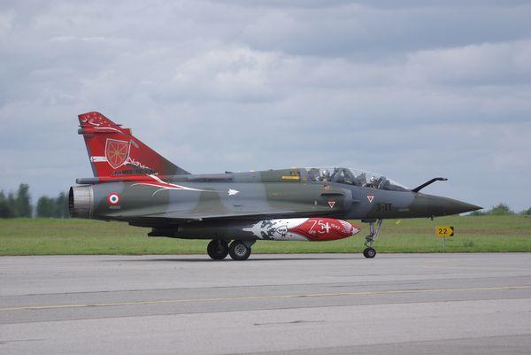 Les Mirage 2000D de Couteau Delta.