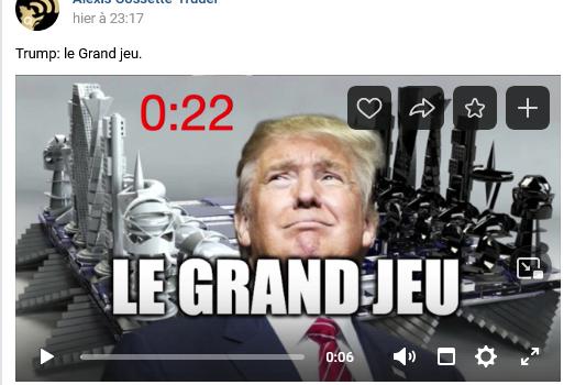 #Trump: le Grand jeu.