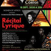 Africa Lyric's Opera en concert à Paris le 18 septembre | Forum Opéra