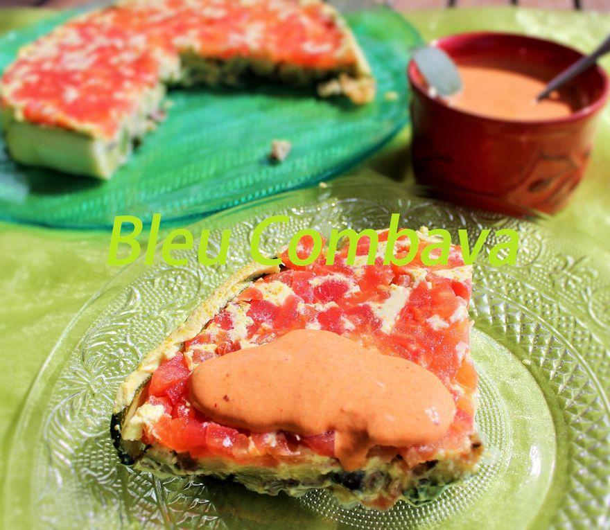 Gâteau Fraîcheur aux Légumes, Épices et Yaourt de Brebis