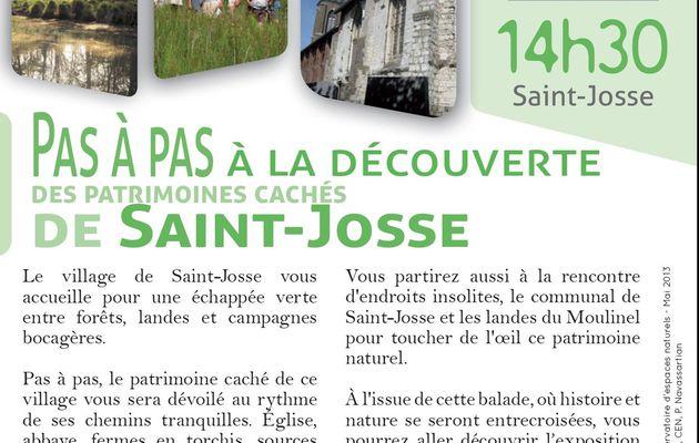 PAS à PAS...à la DECOUVERTE DES PATRIMOINES CACHES DE SAINT JOSSE...