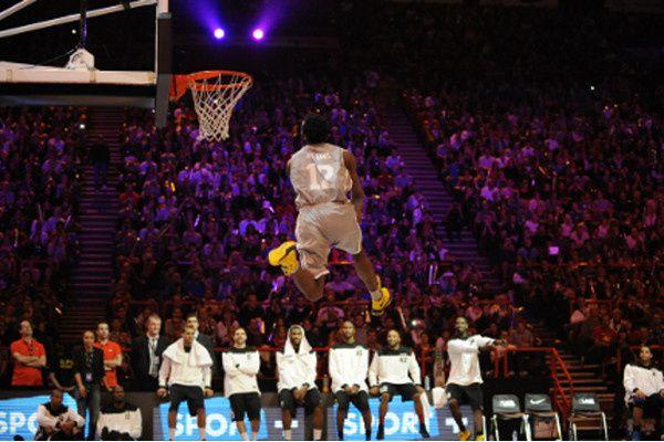 All-Star Game 2012 - Pro A: LD William vainqueur du concours de Dunk contest