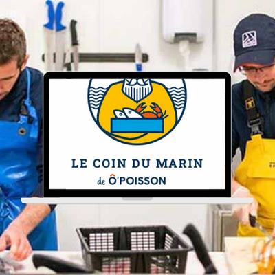 Le Coin du Marin de Ô'Poisson : du poisson 100 % local, aussitôt pêché et aussitôt expédié