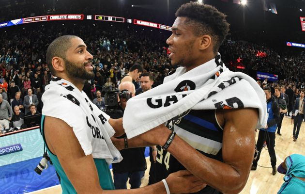 NBA Paris Game 2020 : sans forcer son talent, Giannis Antetokounmpo a conquis le public parisien