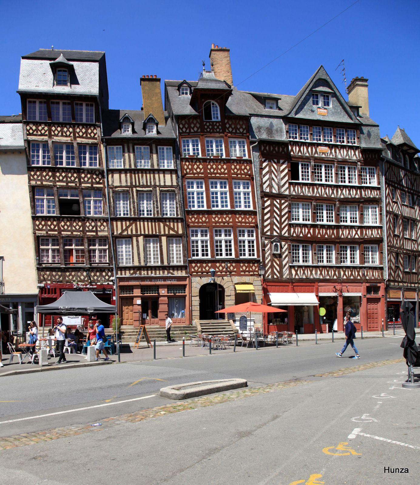 Rennes, place du Champ Jacquet
