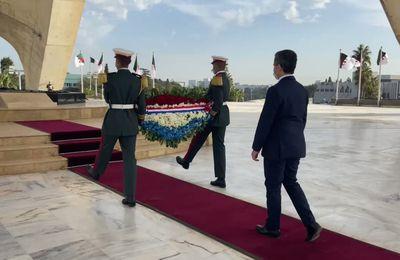 Le ministre français de l'Intérieur Gérald Darmanin a rendu hommage en Algérie aux martyrs du FLN tombés durant la guerre d'indépendance contre la France (Vidéo)