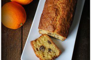 Cake Orange - Noix de Pécan Caramélisées