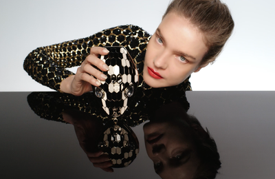 BVLGARI SERPENTI CAPSULE COLLECTION THROUGH THE EYES OF MARY KATRANTZOU. STARRING NATALIA VODIANOVA