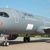 """Le """"masque de Zorro"""" pour l'Airbus A321LR de la Luftwaffe - Aerobuzz"""