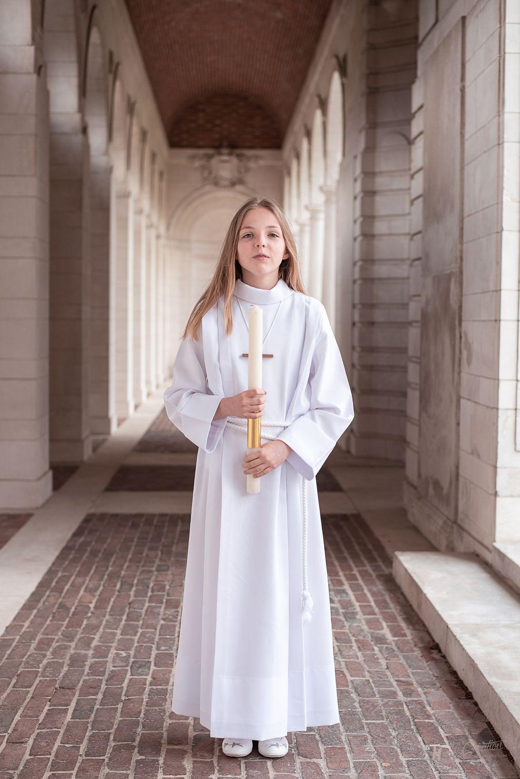 Séance photo communion dans les Hauts de France : Clémence