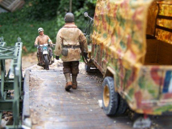quelques photos de mes dioramas divers et variés......