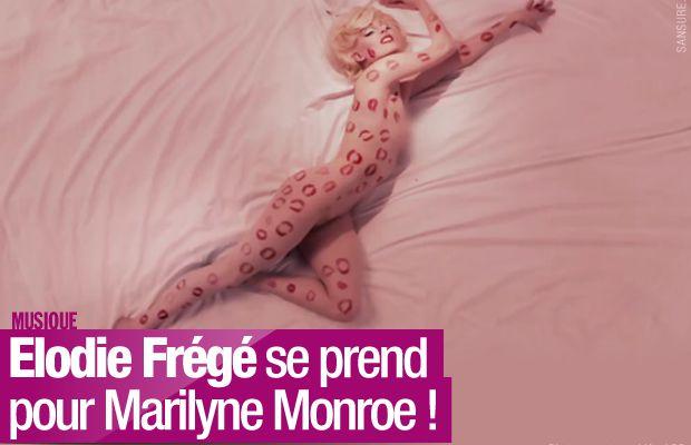 Elodie Frégé se prend pour Marilyne Monroe ! #clip