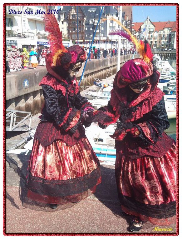 Le Carnaval Vénitien de Dives sur Mer organisé par Eliane et Rafy fût un grand succès. Vivement celui de 2011
