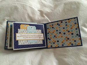 Mini album pour le Scrapbooking Day