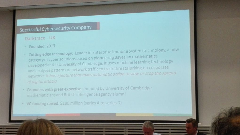 ENISA'S INDUSTRY EVENT ON EU REGULATION : BUSINESS OPPORTUNITIES FOR CYBER-SECURITY SME'S