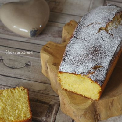 Cake au citron et semoule