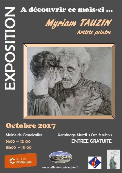 Vernissage Mairie de Castelculier 3 octobre 2017
