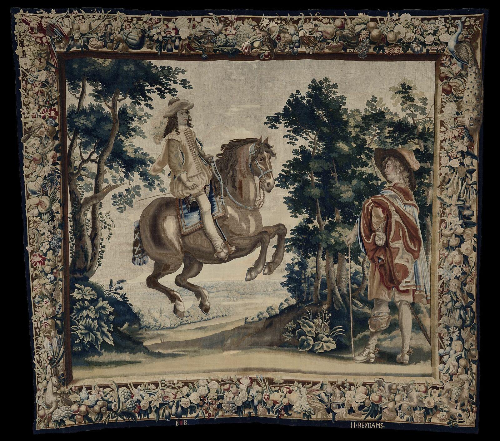 Exercice équestre de Louis XIII (Saumur)