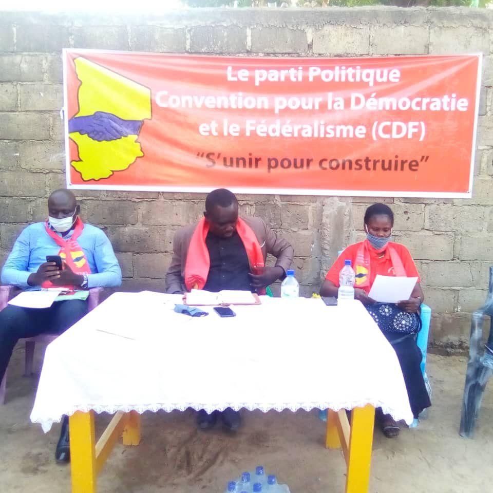 Tchad: déclaration du parti, la Convention pour la Démocratie et le Fédéralisme