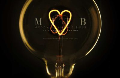 "Nouveau sur Comptoir Elec & Design : Les ampoules à message ""Message In The Bulb by Elements Lighting"", vous allez craquer !"