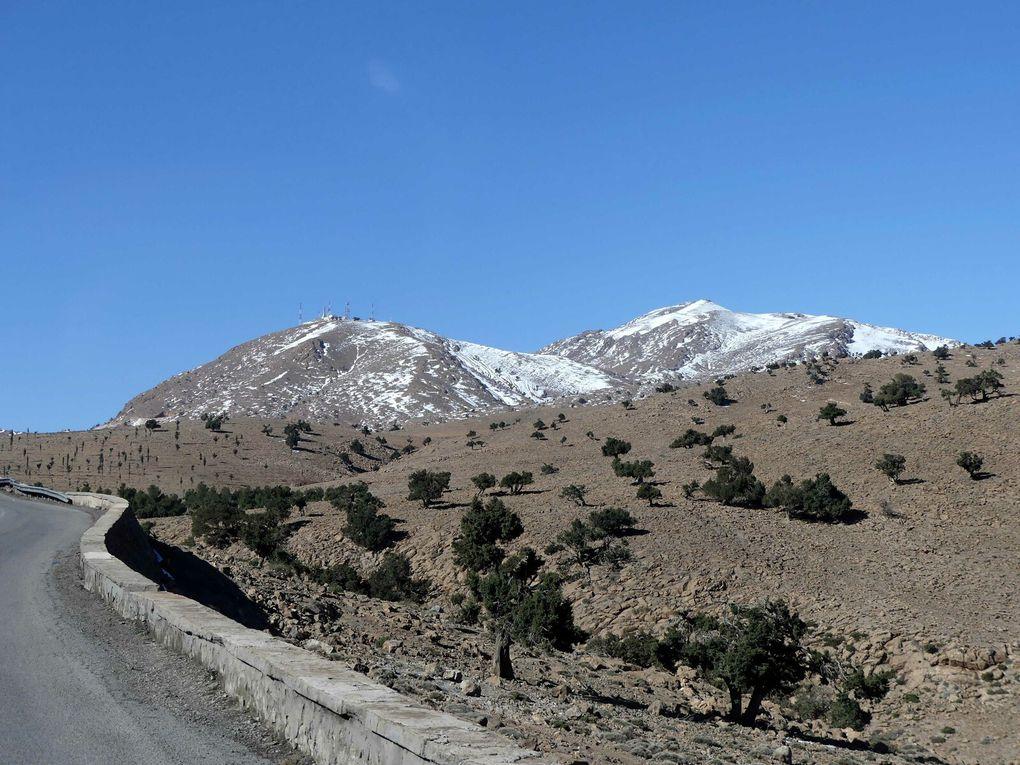 De la neige marocaine à notre maison