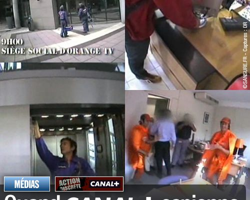 Quand Canal+ espionne son concurrent Orange !