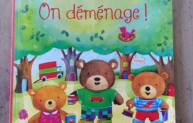 J'habille les Oursons, On déménage ! Editions Usborne