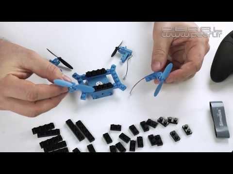 Un drone quadricoptère type LEGO à monter soi-même