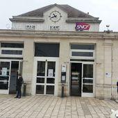 Bourges : la glace casse les vitres des trains