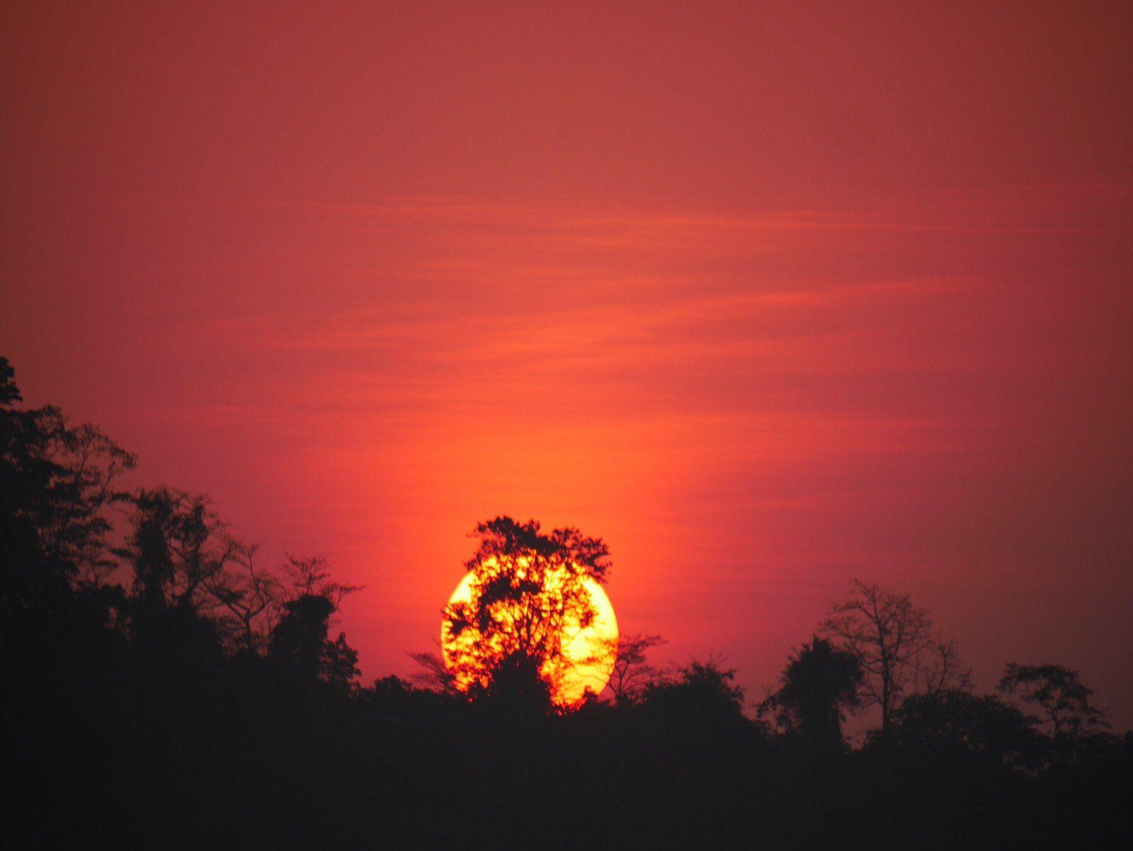 Sunset, Kalipur Beach