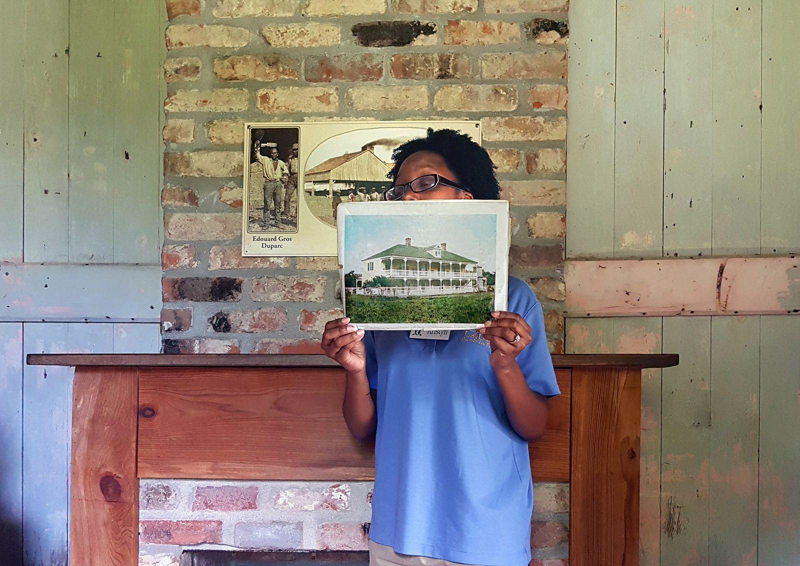 Laura Plantation ancienne photo de la Maison de Reprise