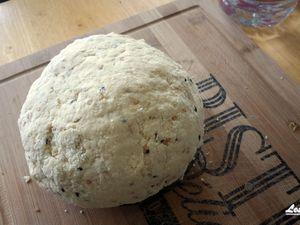 Pas à pas de la recette de cheese naans, cliquez sur les images pour les agrandir !