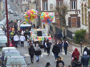 Défilé du Carnaval 2018 à Algrange