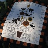 The Painted Quilt: First Friday Freebie # 14 and Fall Into Fall Giveaway!