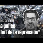 """David Dufresne : """"Ce n'est plus du maintien de l'ordre, mais de la répression"""""""