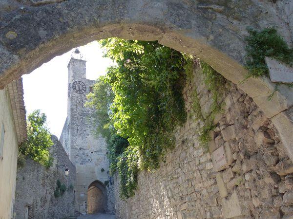Vaison la Romaine, cité médiévale.