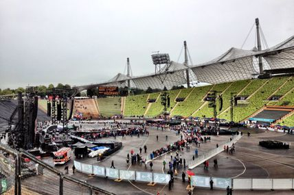 Alessandro just checked in @ Olympiastadion (München, Germany)