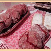 Craquelés aux biscuits roses de Reims - Oh, la gourmande..