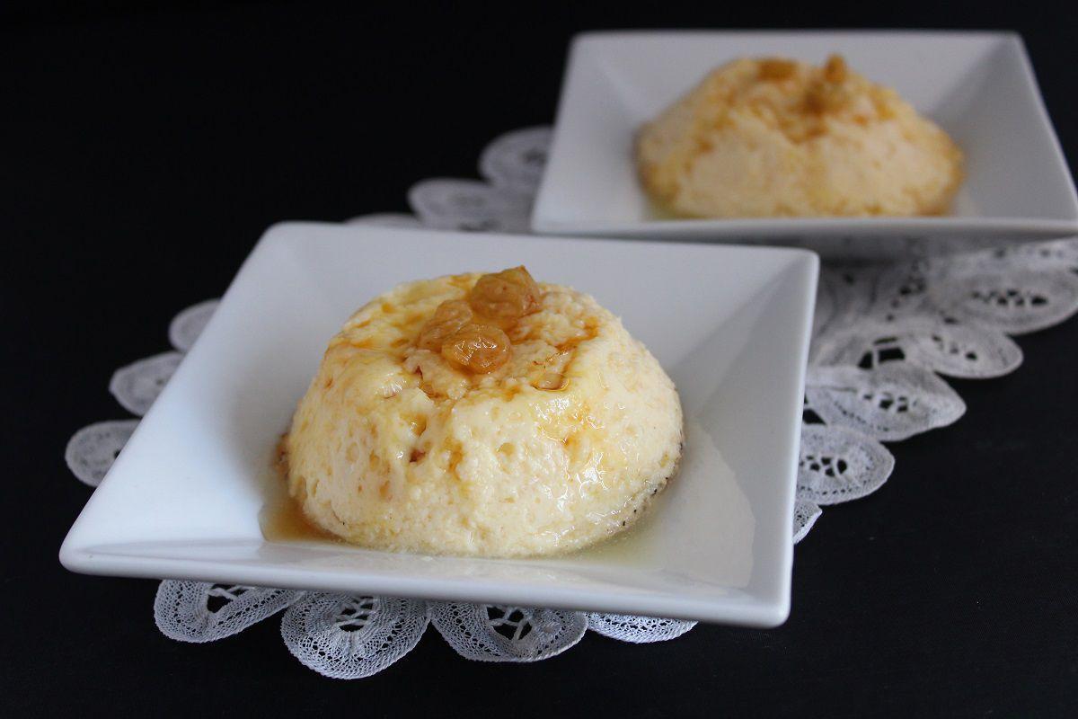 Crème renversée mascarpone et caramel