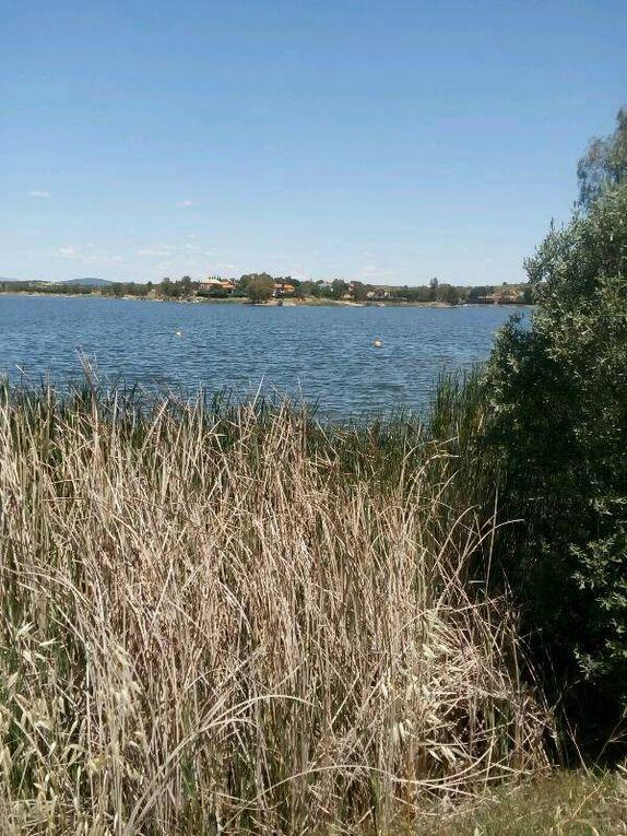 Propersine, la réserve d'eau et restes romains.