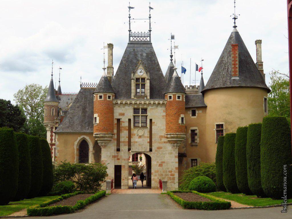 Le château-mairie de Saint-Florent-sur-Cher