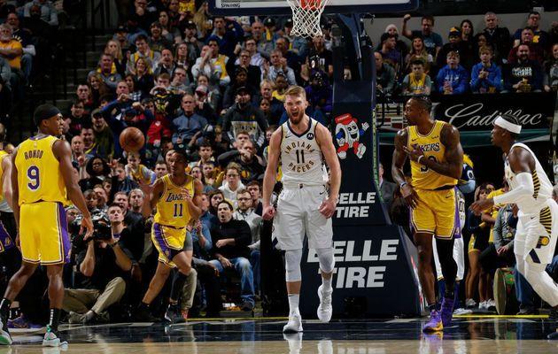 Indiana met un terme à la série des Lakers