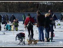 La pêche blanche au lac du Guéry - samedi 3 Mars 2012