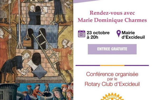 Conférence du Rotary Club d'Excideuil